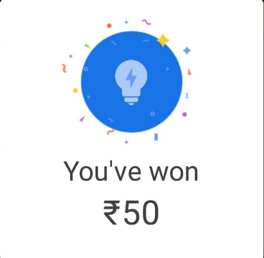 Google Pay (Tez) - Get Rs.50 Cashback On Paying Electricity Bills