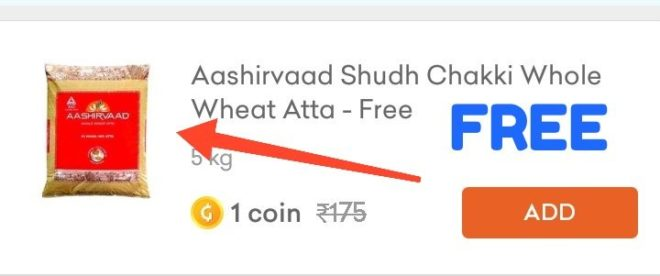 Grofers Free Items - Refer & Get Free Grofers Items ( Earn Coin Grofers )