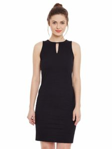 Amazon - Buy Miss Chase Womens Black Bodycon Dress @652
