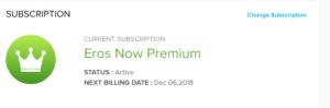 ErosNow Diwali Offer - Get Free Erosnow Premium Subscription For One Month