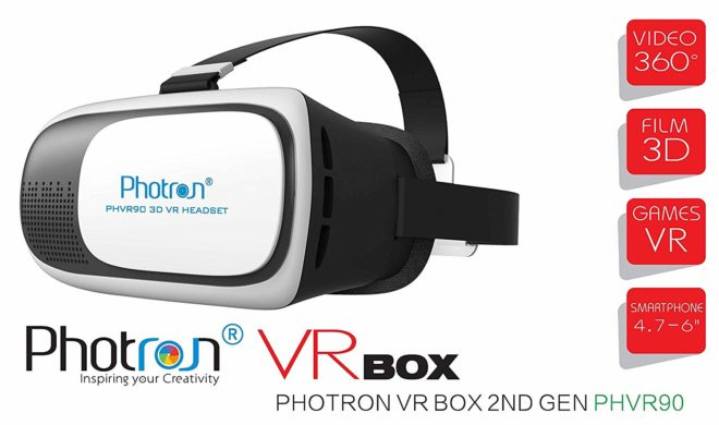 Amazon - Buy Photron VR BOX 2.0 Virtual Reality Glasses @199