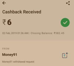 Money 91 App - Get Rs.6 SingUp + Rs.3 Per Refer ( Instant Redeem Paytm)